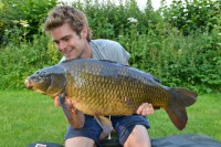James Armstrong with a cracker