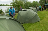 The Trakker Bivvy Village was well worth a look