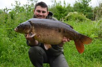 The next fish to fall was The Pretty One at 30lb 10oz