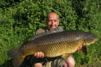 Steve caught this stunning 27lb common as part of a brace