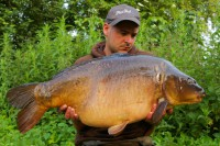 This 35lb 4oz mirror topped off a great first session
