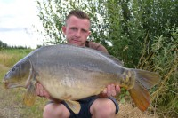 Billy Flowers with a zig-caught Lord's twenty
