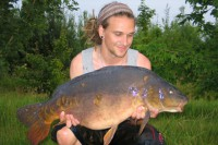 The biggest of the session went 27lb