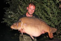 This 48lb mirror currently tops Darrell's catch list