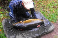 The rod fished to the gravel hump was away again