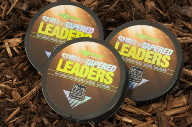 Dave Finn has been testing our tapered leaders