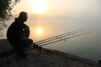 Darrell enjoying an evening on Gigantica