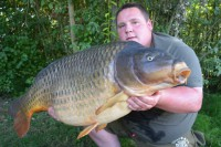 The huge frame of Brad's new PB common