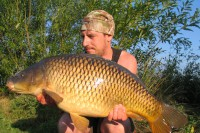 Fish like this chunky common couldn't resist Dan's approach