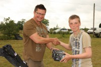 Prizes were donated by some of the best fishing companies