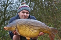 A January common of over 30lb was welcome