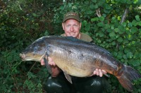 The bigger of the two thirties at 34lb 4oz