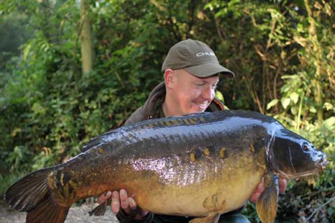The biggest of the session at 35lb 6oz