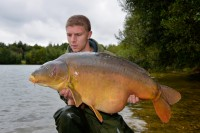 The impressive mirror wasn't one that Matt had caught before