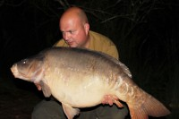 This 38lb mirror followed