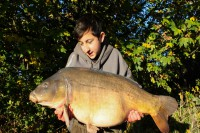 And there she is, Petals at 34lb 12oz