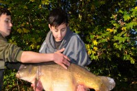 Matty Morel banked a very special fish on the last morning