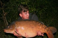 This cracking 34lb 8oz fish came as part of a special trio