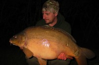 The carp on Dan's winter water were active through the night