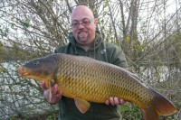 This golden common was Johan's first bite
