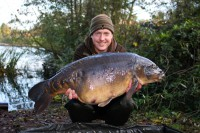 This 38lb 8oz mirror topped of Ed's catch