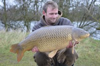 Darrell was over the moon to bank this scale perfect common