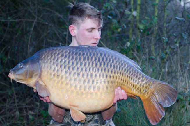 Sam Pudney bagged one of the best carp in Essex