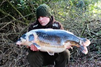 This crazy-coloured common tipped the scales to 29lb 8oz
