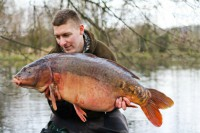 Black Spot slammed the scales to 39lb 15oz