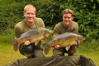 Rich Stewart and James Armstrong tackle floater fishing
