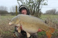 This stunning common is Marks last fish from his recent run