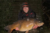 This 33lb common was a new PB and in January too