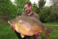 Darren banked his PB back in May 2012, out of Co's Point at 53lb