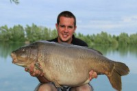 The Nude fish at 48lb 12oz back in 2012