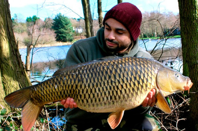 Warren open his account with this golden-brown common, at 22lb