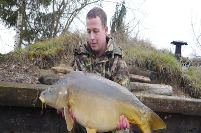 The Road Lake is home to some absolutely cracking fish