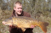 Not a monster, but what a beautiful carp