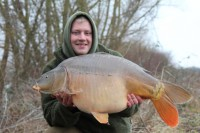 Dan Wildbore got among the fish this winter