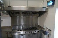 The new cooker has been installed and is ready to go