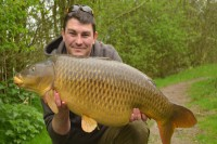 He was clearly over the moon with this lovely clean common