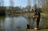 Fennes Fishery was the venue of choice for the match of the day