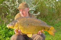 Ed Betteridge has been among the carp on his new water