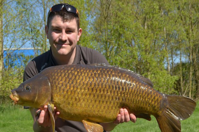Another zig caught common for Jim