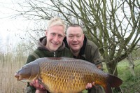 Manor Farm is home to some immaculate carp