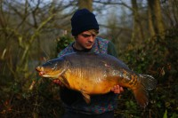 At 32lb 14oz, Harvey was elated with his capture