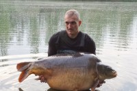 The great fish smashed Steve's PB by 32lb