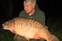 This 29lb scaly mirror followed shortly after