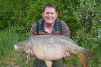 John was plotted up in Tea Part one and managed 26 fish