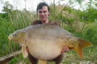 Matty recently caught the new lake record