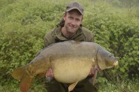 Darrell's first Burghfield carp